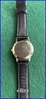 Very nice original 1947 Omega bumper mens vintage automatic service 342 run