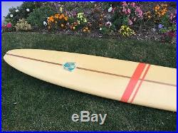 Vintage 1960s Velzy surfboard longboard very nice original condition