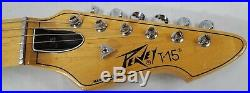 Vintage 1983 Peavey T-15 Natural Electric Guitar Made in USA Very Nice