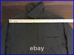 Vintage 50s 60s Collectible Work Jacket Conmar Zip Lined Unique Very Nice USA