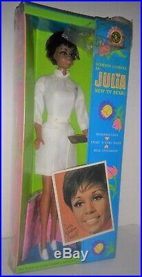 Vintage Barbie Diahann Carroll Julia Nurse doll mint in very nice box
