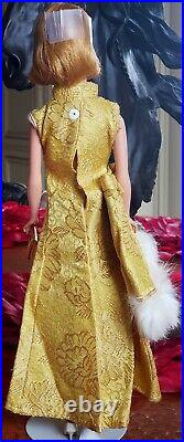 Vintage Barbie Mod Peggy Ann Evening Coat & Gown! Very Nice! Fits Babs Mitzi