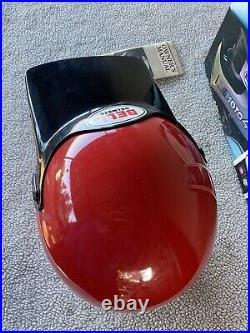 Vintage Bell Moto 4 Red Motorcycle Helmet 7 1/4 Very Nice