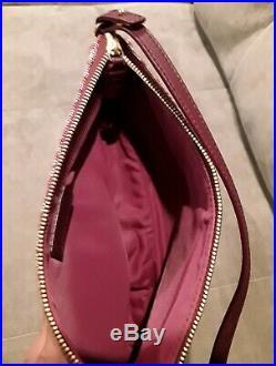 Vintage Christian Dior Saddle Bag Trotter Logo Red Purse very nice with tags & bag