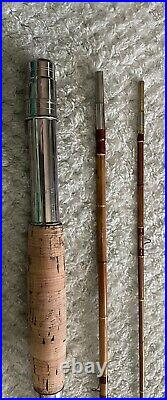 Vintage Chubb/Montague-Bamboo Fly Rod-Swelled Butt 3/1 Very Nice