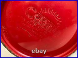 Vintage Coleman 200A Red Lantern January 71 Very Nice