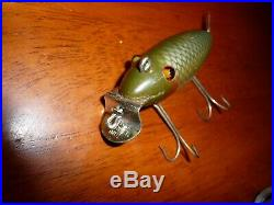 Vintage Creek Chub Deluxe Wagtail #800 Fishing Lure. Very Nice