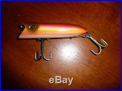 Vintage Heddon Basser 2 Hook Salmon Fishing Lure In Box. Very Nice