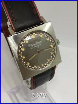 Vintage Lucien Piccard Automatic Men's Watch Roulette Dial Very Nice