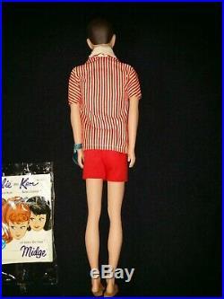 Vintage Mattel Ken Doll #850 Barbie's Boyfriend Mint in Box with Tag Very Nice