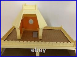 Vintage Mattel The Littles Doll House With Furniture & Extras 1980 Very Nice