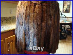 Vintage Mink Fur Stole Wrap Very Nice Canadian Fur Co