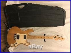 Vintage Peavey T-15 Natural Electric Guitar USA Very Nice! Original Amp Case