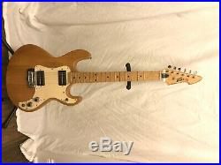Vintage Peavey T-15 Natural Electric Guitar USA Very Nice! Original Amp Case