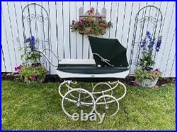 Vintage Pedigree Baby Pram Carriage Stroller. Very Nice Made in England