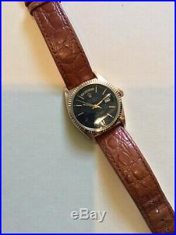 Vintage Rolex 1803 Rose Gold Day-Date Circa 1969 Very Nice 36mm