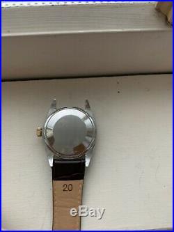 Vintage Rolex Ref. 1500 Steel with Gold Bezel Very Nice