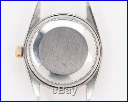 Vintage Rolex Steel & Gold 1600 Datejust with White Buckley Dial! VERY NICE
