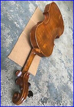 Vintage Violin. Antique Fiddle. Stradivarius 1716 Copy. 4/4 Full Size. Very Nice