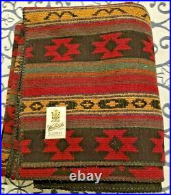 Vintage Woolrich Blanket 58x70 Native Pattern No Defects Very Nice Made in USA