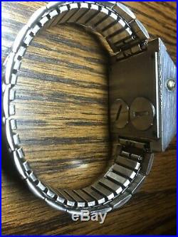 Vintage bulova computron N6 LED watch in very nice used working condition