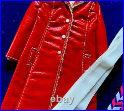 Vtg 1970 Barbie FRANCIE Outfit Long on Leather #1769 COMPLETE AND VERY NICE