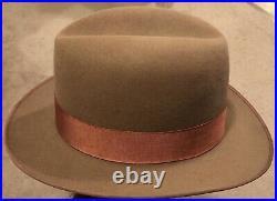 Vtg Early 50s Dalton 7 1/4 Fedora Hat 2 1/2 Wide Brim Very Nice! Rare