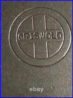 Vtg. Griswold No. 12 Skillet 719A w Heat Ring / Small Logo /Very Nice / Seasoned